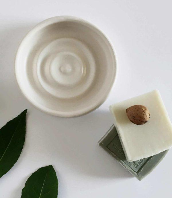 jabonera hecha a mano