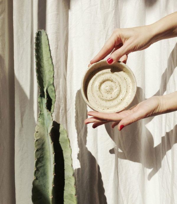 jabonera en ceramica