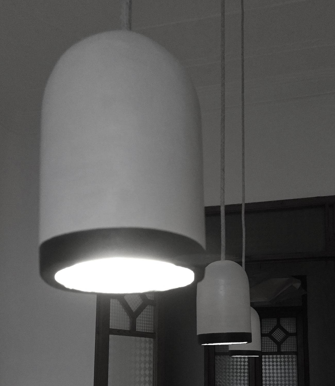 lamparas de ceramica